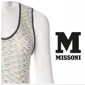 Missoni Knit Tank Top - fits like xs